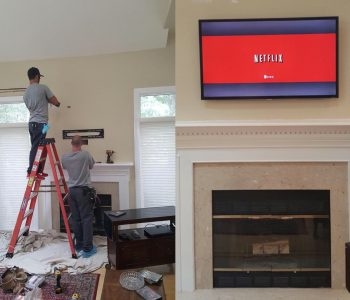Home theater Installation1